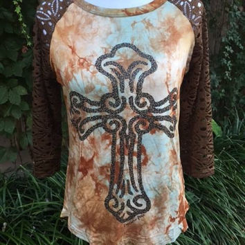 Tye Dye Cross Top