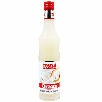 Almond Orzata Orgeat Syrup by Toschi 19 oz