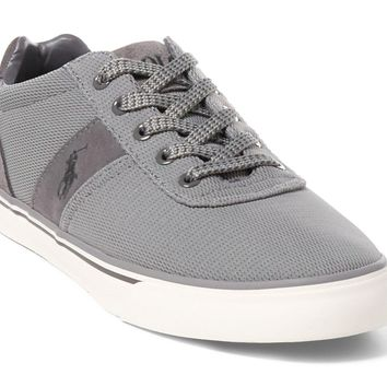 Polo Ralph Lauren Men's Hanford Fashion Sneaker Grey Oval Mesh 10 D(M) US '