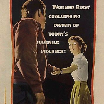 Rebel Without a Cause 14x36 Movie Poster (1955)