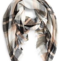 BP. Plaid Oblong Scarf | Nordstrom