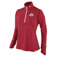 Nike Dri-FIT Element Half-Zip (Ohio State) Women's Running Top