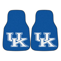 Kentucky Wildcats NCAA Car Floor Mats (2 Front) UK Logo