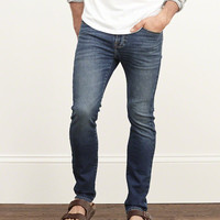 A&F Skinny Zip Fly Sweatpant Jeans