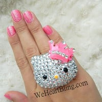 Hello Kitty Crown Ring