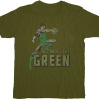 The Green Lantern All About the Green T-shirt