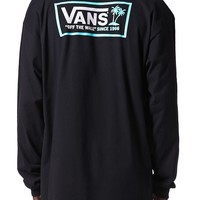 Vans OTW Surf Club Long Sleeve T-Shirt - Mens Tee - Black