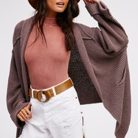 Free People Low Tide Cardi