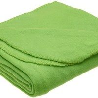 Northpoint 180 GSM 50-Inch by 60-Inch Fleece Throw, Green