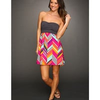 Roxy Savage Tube Dress (Juniors) Rose Print - Zappos.com Free Shipping BOTH Ways