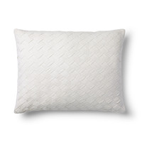 Dune Lane White Basket Weave Pillow - Ralph Lauren