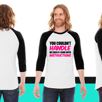 Funny4 American Apparel Unisex 3/4 Sleeve T-Shirt