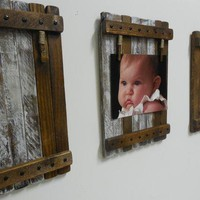 Picture Holder/frame (2) Large Rustic/shabby Chic Wall Hanging