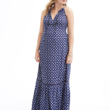 Rebecca Taylor Criss Cross Maxi Dress