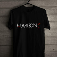 Maroon 5 ADAM LEVINE BLACK for man and woman shirt / tshirt / custom shirt