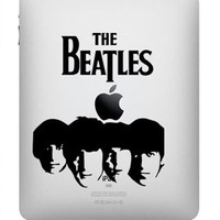 The Beatles -- iPad Decal iPad Sticker Art Vinyl Decal for Macbook Pro / Macbook Air / iPad 1 / iPad 2 / iPad 3/iPad 4/ iPad mini
