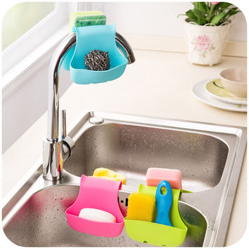 Saddle Type Sponge storage rack Saddle basket wash cloth Toilet soap shelf Organizer kitchen gadgets Accessories
