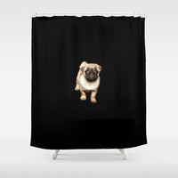 Doggy  Shower Curtain by Wowpeer