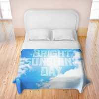 Artistic Duvet Cover | Rachel Burbee | Bright Sunshiney Day | Dianoche Designs