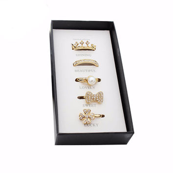 Fab Fashion Rings Set