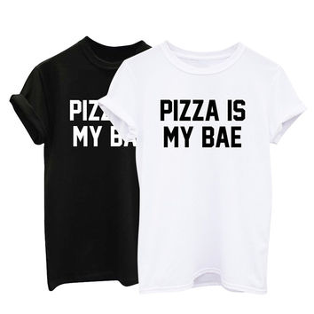 Summer Style T-Shirt for Pizza Lovers