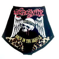Cotton Hot Shorts- Aerosmith