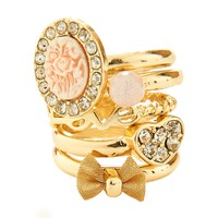 Aeropostale  Rose Ring 5-Pack