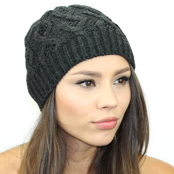 Sweater Knit Beanie