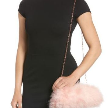 Ted Baker London | Loop Bow Feather Evening Bag | Nordstrom Rack