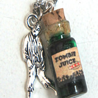 Zombie Juice Potion Necklace