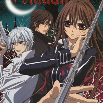 Vampire Knight Anime Cast Poster 24x36