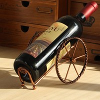 Wine Racks Handmade Plating Process Support Home Kitchen Bar Accessories Nice Practical Wine Holder Metal Craft