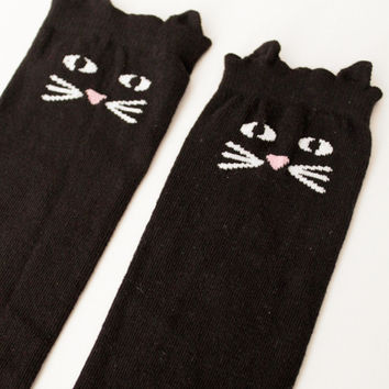 Lazy Oaf | Cat Nip Knee High Socks
