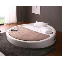Beds: Opus Modern Round Bed - VIG Furniture VGKCOPUS/6