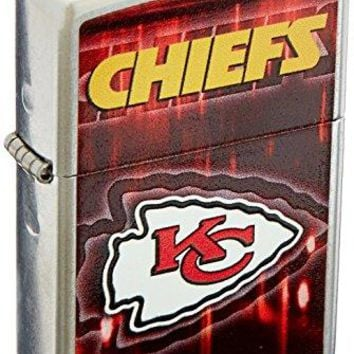 Personalized NFL KANSAS CITY CHIEFS Zippo Lighter - Free Engraving