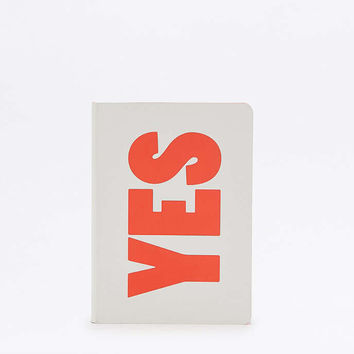 nuuna Yes/No Notebook - Urban Outfitters