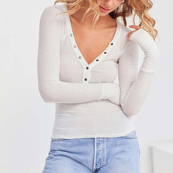Out From Under Everyday Henley Top | Urban Outfitters