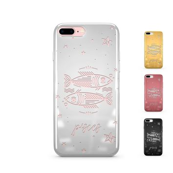 Chrome Shiny TPU Case - Pisces