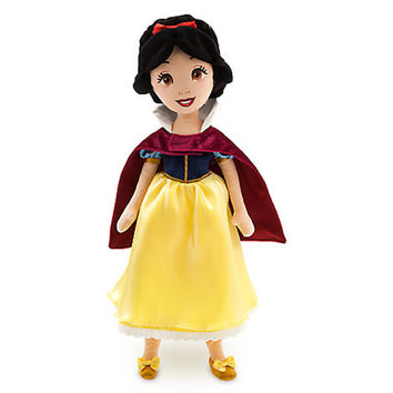 Disney Store Princess Snow White Plush Doll 18'' Toy New with Tags