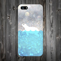 Polar Bear Swim Case x Arctic Snow Design Case for iPhone 6 6 Plus iPhone 5 5s 5c iPhone 4 4s Samsung Galaxy s5 s4 & s3 and Note 4 3 2