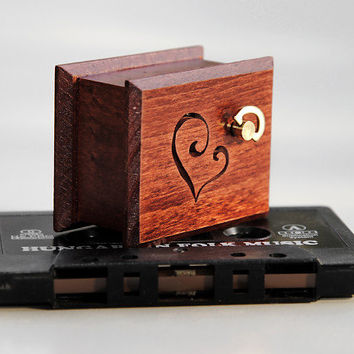 Anniversary gift for boyfriend romantic gift for men love you gift for husband unique music box Love Story