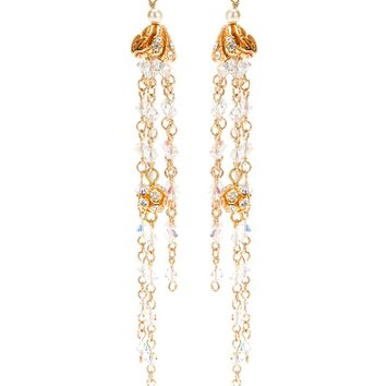 Christian Lacroix Vintage Drop Crystal Earring