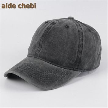 [aide chebi] gorras 2016 baseball cap baby flat brimmed hat hip-hop hat caps Polo and