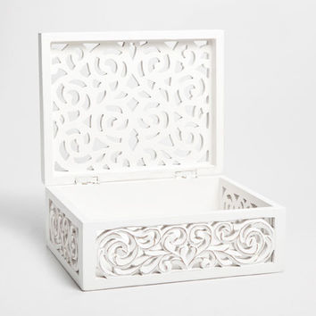 OPENWORK WOODEN BOX - Boxes - Decoration | Zara Home United Kingdom