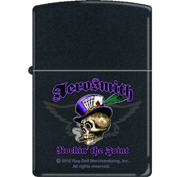 Zippo Aerosmith Black Matte Lighter