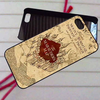 Marauder's map harry potter - case iPhone 4/4s,5,5s,5c,6,6+samsung s3,4,5,6