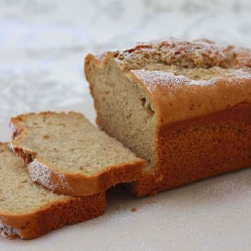 Recipes - Eggless Banana and Nutmeg Cake