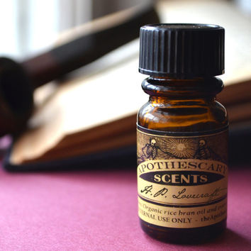 H.P. LOVECRAFT Perfume Oil - 1/4 oz (8 ml) - Ginger, Oakmoss, Devil's Root, and More