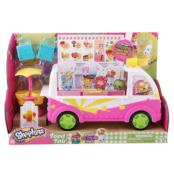 Shopkins™ Season 3 Scoops Ice-Cream Truck Playset