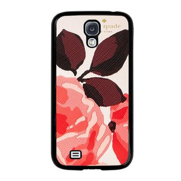 KATE SPADE CAMEROON STREET ROSES 3 Samsung Galaxy S4 Case